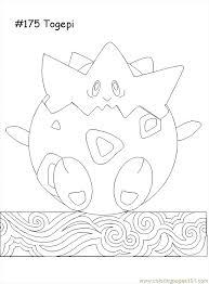 pokemon coloring pages togepi togepi coloring pages