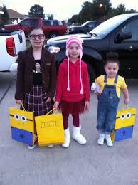 Minion Halloween Costumes Kids Halloween Costume 3 Girls Margo Edith U0026 Agnus Gru