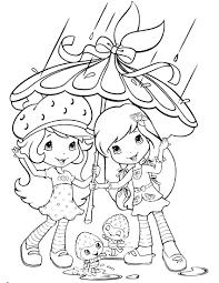 strawberry shortcake coloring page fresitas pinterest
