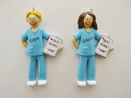 nurse christmas ornament best nurse personalized ornament