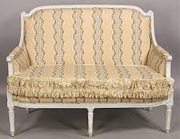 canape louis xvi louis xvi painted settee canape sofa c1910 for sale