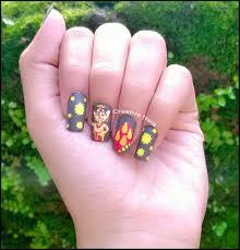 welcome ganesha nail design u2013 creative nails