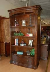 mahogany and more bookcases walnut old world large bookcase with