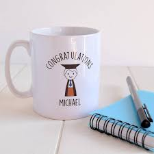 graduation gift personalised boy s graduation gift mug by just toppers