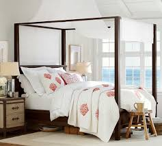 Bed Frames Diy King Bed Frame Plans Farmhouse Bed Pottery Barn by Best 25 Farmhouse Canopy Beds Ideas On Pinterest Rustic Canopy