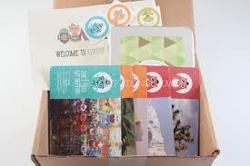kiwibop postcard pals review subscription box mom subscription