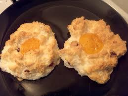 eggs in a cloud caveman keto