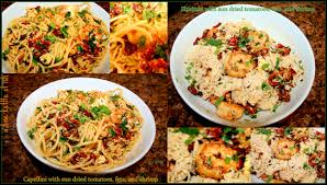 pasta with shrimp feta and sun dried tomatoes a fine kettle of ish