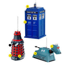 doctor who ornament ornaments callisters