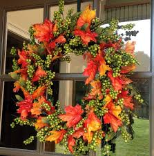 autumn wreath 24 green apple fall wreath flora decor