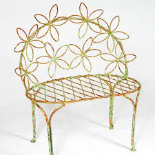 Wrought Iron Vintage Patio Furniture by Wrought Iron Benches Chairs Pics On Charming Wrought Iron Outdoor