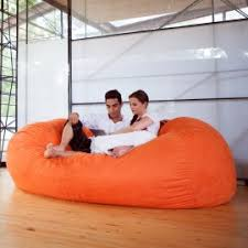 jaxx 6 foot cocoon large bean bag chair for adults charcoal