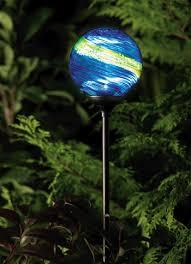 solar globe lights garden unique garden solar lights solar garden globe light murano
