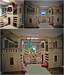 Plans For Building Triple Bunk Beds by 10 Cool Diy Bunk Bed Designs For Kids