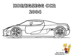 koenigsegg ferrari striking supercar coloring free super cars coloring