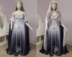silver shadow elven gown sleeve view by firefly path should i