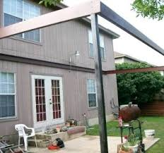 Metal Awning Prices Patio Door Awning Metal Metal Patio Awning Kits The Steel Awning