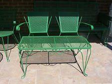 Modern Outdoor Loveseat Used Outdoor Furniture Ebay