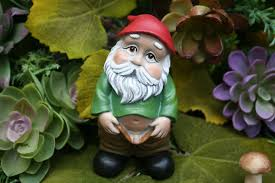 obscene garden ornaments search gnomes and