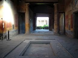 impluvium toward atrium house of menander pompeii flickr