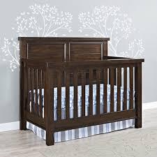 Convertible Crib Vs Standard Crib Bertini Timber Lake 5 In 1 Convertible Crib Walnut Babies