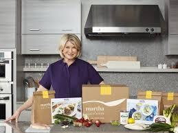 Martha Stewart Kitchen Appliances - kitchen queen martha stewart joins crowded meal kit craze