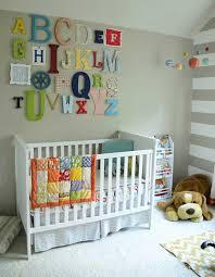 Baby Nursery Room Decor Baby Nursery Decor Colourful Alphabets Letter On Wall Baby