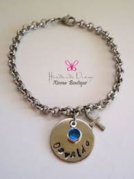 personalized sted jewelry personalized nana necklace sted by bawsteddesigns on