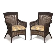 Wicker Patio Chair by The Brilliant Wicker Patio Chairs Intended For Existing Household