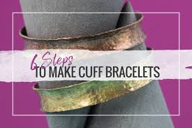 make silver bracelet cuff images 6 steps to make cuff bracelets halstead jewelry blog jpg