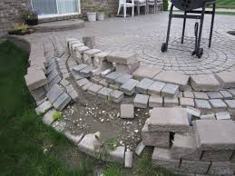 Raised Patio Construction How To Build Patio With Pavers Laura Williams