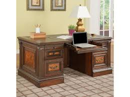 Executive Desk Parker House Corsica Double Pedestal Executive Desk With Tooled
