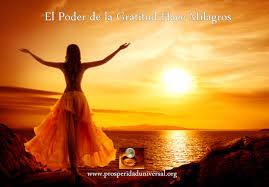 imagenes de agradecimiento al universo milagro de gratitud activa la energía del universo