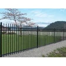 Front Yard Metal Fences - iron front yard fence gate grilles fences u0026 railings the
