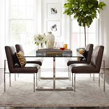 Glass Dining Table And Chairs Dining Room Chairs U0026 Stools Williams Sonoma