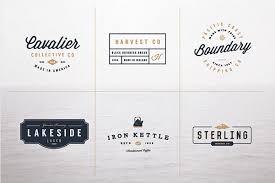 design a vintage logo free vintage logo kit free psd psdexplorer