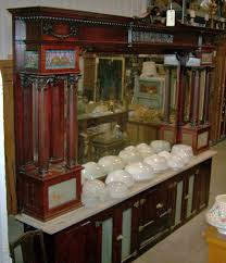 Antique Furniture Stores Indianapolis Ornate 12 U2032 Soda Fountain Back Bar Architectural Antiques Of