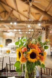 table centerpieces with sunflowers tall sunflower arrangement for picture table for rustic wedding