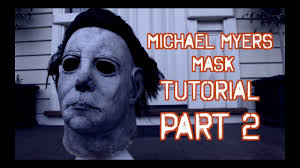 Halloween H20 Knb Mask by How To Make A Michael Myers Mask Tutorial Part 2 Youtube