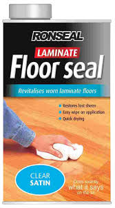 ronseal clear satin laminate floor seal1l departments diy at b u0026q