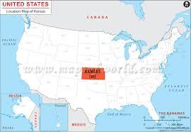 usa map kansas state where is kansas location map of kansas