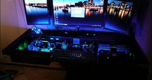 gaming office setup desk pc gaming amazing gaming desk setup found the best home