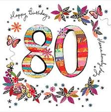 cards for her 80th birthday funky pigeon