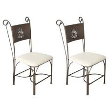 chaises en fer forg chaise fer forge achat vente pas cher