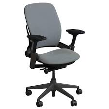steelcase leap v2 used task chair gray national office