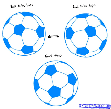 how to draw soccer balls step by step sports pop culture free