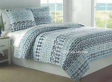 Tropical Bedspreads And Coverlets Coastal 100 Cotton Tropical Quilts Bedspreads U0026 Coverlets Ebay