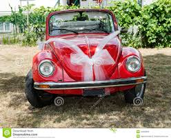 Deco Mariage Voiture by Voiture Rouge De Mariage Photo Stock Image 43302603