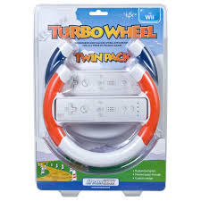 turbo wheel twin pack for wii dreamgear