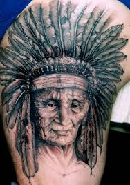 indian indian tattoo u2013 headdress design tattooshunter com